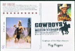 Cowboys of the Silver Screen Postcards - Official B/W Pictorial Cancel - 4/16/2010