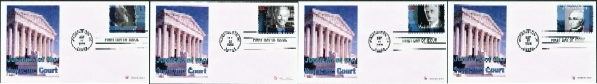 Justices of the Supreme Court - Set of 4 Covers