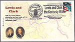 Lewis and Clark Kentucky Militia Event Cover