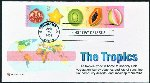 Tropics FDC w/ Sheet Stamps